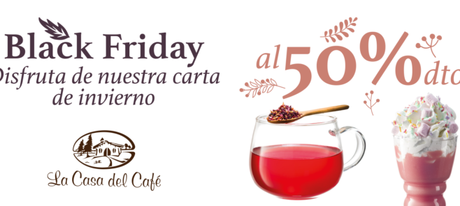 black friday la casa del café